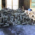 zwischendrinn mal kurz Brennholz verräumen